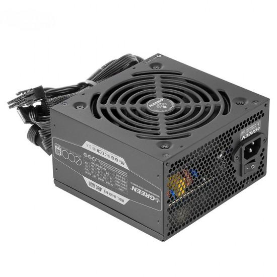 منبع تغذیه کاملا ماژولار گرین مدل GP450A-ECO Rev3.1