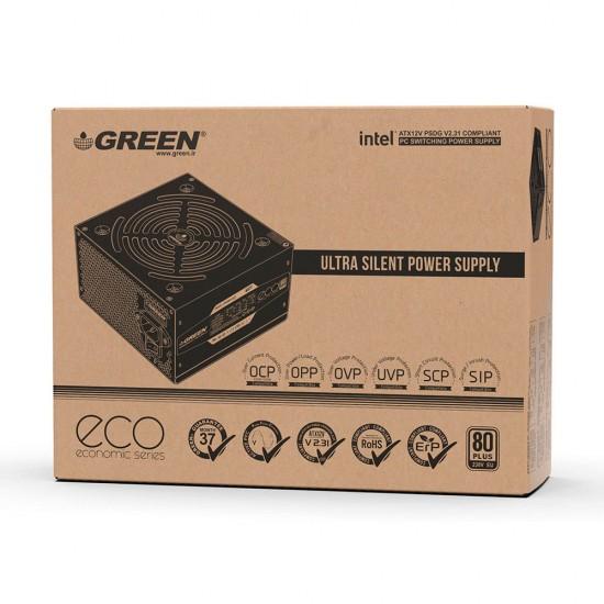 منبع تغذیه غیر ماژولار گرین مدل GP500A-ECO