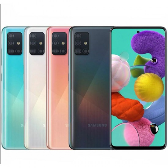 گوشی موبايل سامسونگ مدل Galaxy A51 حافظه 128 گیگابایت با رم 6 گیگابایت
