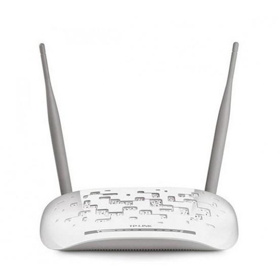 مودم روتر ADSL2 Plus بی سيم N300 تی پی-لينک مدل TD-W8961N