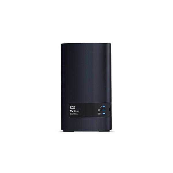 ذخیره ساز تحت شبکه Western Digital سري قرمز مدل My Cloud EX2 Ultra WDBVBZ0120JCH-EESN ظرفيت 12 ترابايت