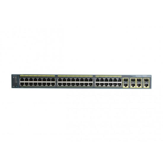سوییچ مدیریتی 48 پورت Cisco مدل (ref) WS-C2960G-48TC-L
