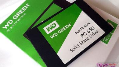 تصویر از معرفی و خرید هارد اس اس دی وسترن دیجیتال WDS240G2G0A