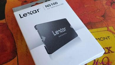 تصویر از بررسی مشخصات فنی و خرید هارد SSD لکسار مدل NS100